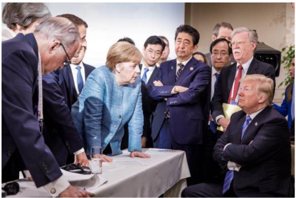 緊迫と対立の場となったカナダでのG7
