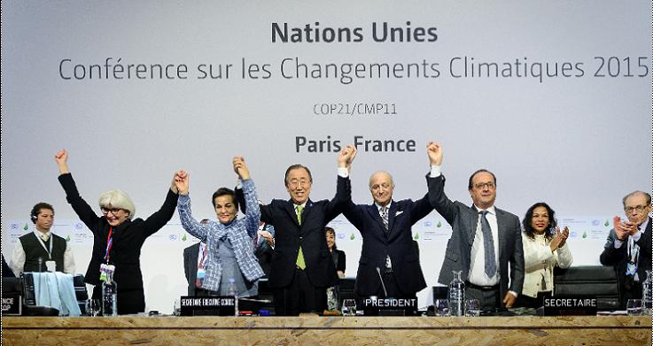 2015年のCOP21、パリ協定の合意