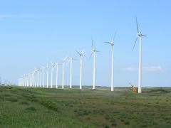 苫前の風力発電所