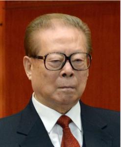 中国の江沢民元国家主席