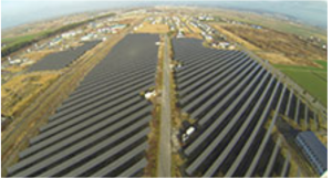 大和エナジー・インフラが北海道岩見沢で運営する太陽光発電事業