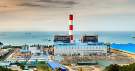 新規原発建設の「例外」になると懸念されているベトナムのブンアン石炭火力発電所の完成予想図