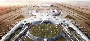 「未来の空港」を先取りしたようなメキシコシティ新国際空港の完成予想図