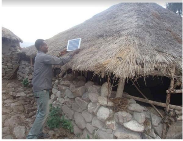 エチオピアでのSHSの設置事例