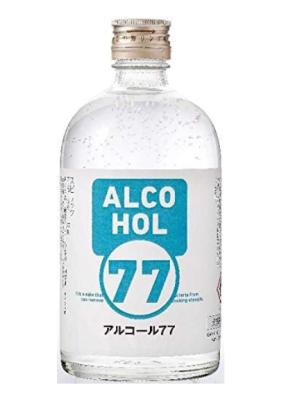 飲んでもよし。でも77°ですから、水で割ってください。