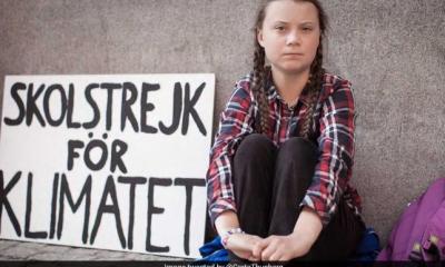 たった一人で、「迅速な温暖化対策を求める登校拒否(School Strike)」を始めたグレタさん。