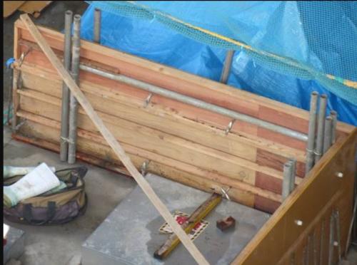 熱帯林合板のコンクリート型枠