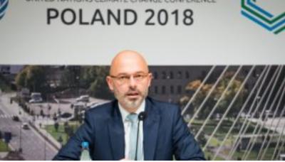 議長を務めたポーランドのクリティカ環境副大臣