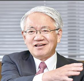 神戸製鋼の川崎博也社長