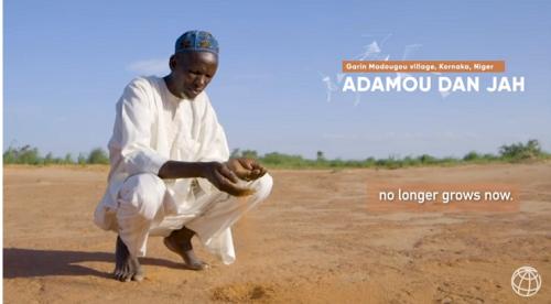 干ばつの進行で農業は壊滅状態