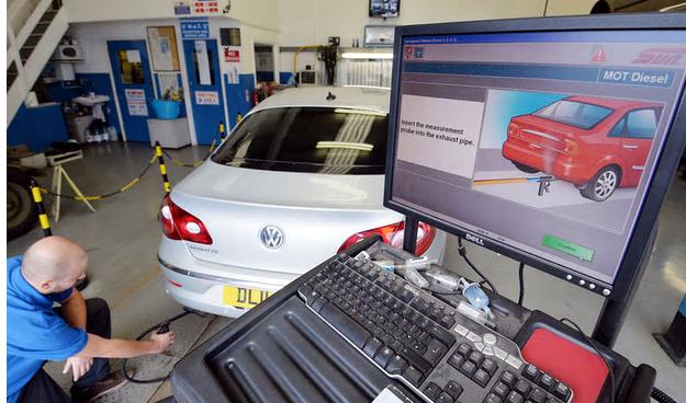 VWの排ガスをチェックする試験機関