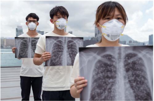 大気汚染で心肺機能が劣化