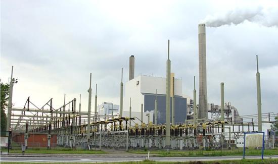 来年廃止されるHemの火力発電所