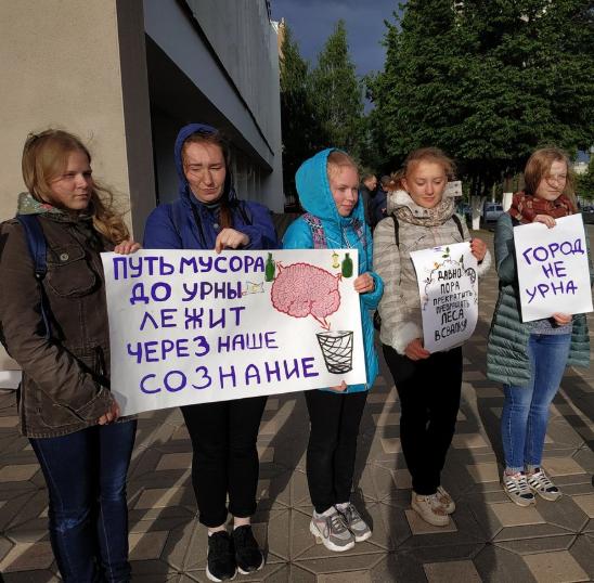 少しずつ、ロシアの街にも「人々の意思表示」が広がり始めている