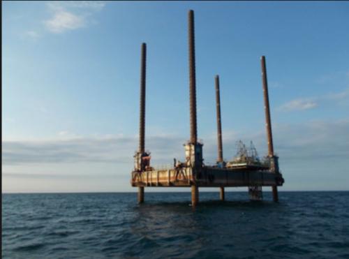 東電が銚子沖で進めている洋上風力発電の調査