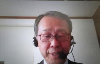 渡辺氏(インタビューはオンラインで行いました)