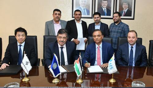 2017年4月に結ばれた最初のヨルダンIPP事業の契約調印