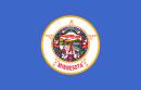 ミネソタ州の州旗