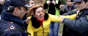 AZERBAIJAN-ECONOMY-PROTEST-RALLY