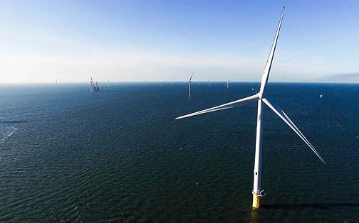 レゴが25%出資したBurbo Bank Extensionの洋上風力発電