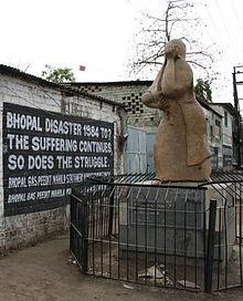 ボパールのユニオン・カーバイド化学工場事故の石