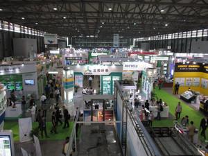 中国のIEexpo2015の会場風景