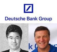 右は、原告に対するPIP実施時のドイツ証券の社長・デイビッド・ハット氏(就任期間07年5月7日~ 年3月31日、写真は株式会社ヤマトミ公式ブログより)。左は、現社長の桑原良氏(13年4月1日~、写真は日本経済新聞より)