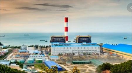 ブンアン2石炭火力発電所計画に隣接するブンアン1火力発電所