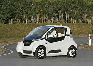 宮古島に似合いそうなホンダの小型EV車