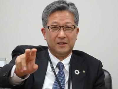 総合企画部長の内堀剛夫氏