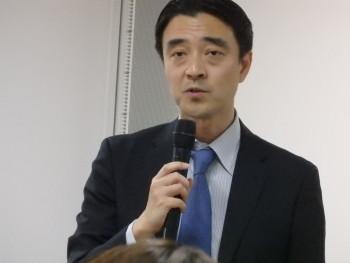 事務局長の高田英樹氏