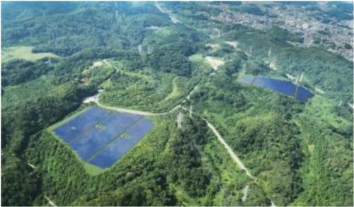 狭山に設立する太陽光発電設備