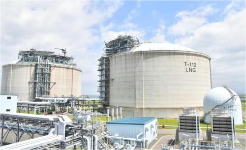 西部ガスの「ひびきLNG基地」