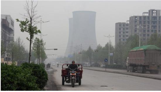 中国の大気汚染の改善は見通せず
