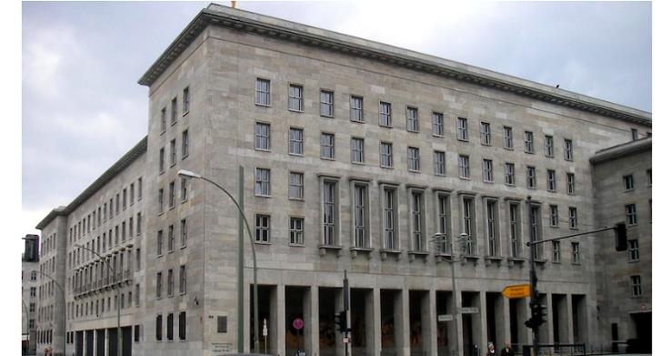 ドイツ財務省(ベルリン)
