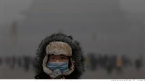 深刻な大気汚染に悩む中国北部