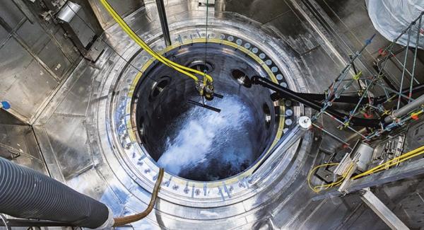 オルキルオト原子炉の内部