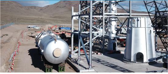 米社が活用している燃料製造プラント
