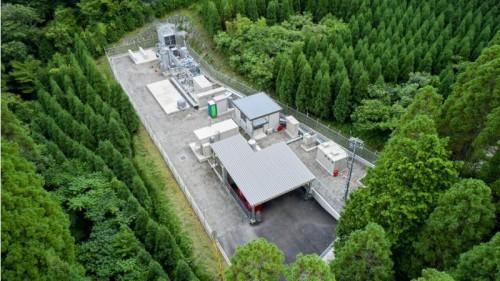 大林組のグリーン水素製造プラント