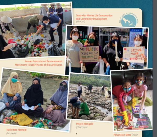 日本を含め世界中で実施された廃プラ回収作業