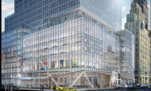 NYCRFのオフィスが入居するニューヨークのビル