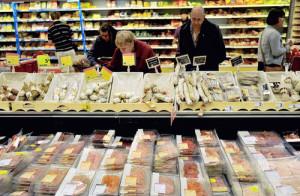 フランスのスーパーマーケット