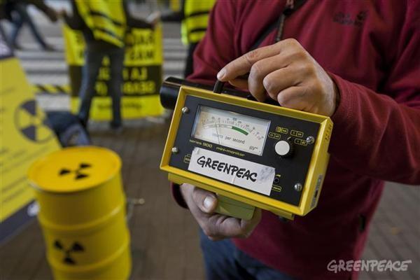 福島で活用されるグリーンピースの放射能測定器