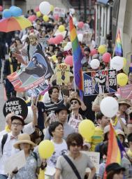 ヘイトスピーチに反対する市民グループによる東京大行進