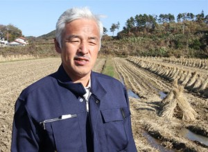 In the zone: Naoto Matsumura, who believes he is the only person still living in the evacuation zone around the Fukushima No.1 nuclear power plant. CHRISTOPHER JOHNSON PHOTOS