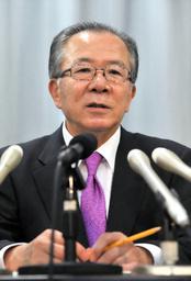 中部電力からの資金受け取りを一部認めたという神田真秋前愛知県知事