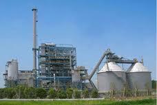 鶏ふんを燃料とするバイオマス発電所