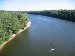 豊かな流れで知られるミシシッピー川。温暖化の影響が顕著に表われる