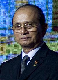 ミャンマーのテインセイン大統領