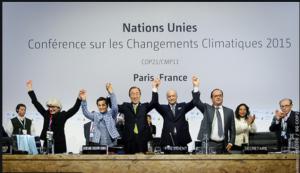 パリ協定で合意したCOP21(2015年)